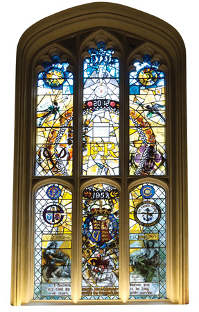 Savoy-Chapel-window