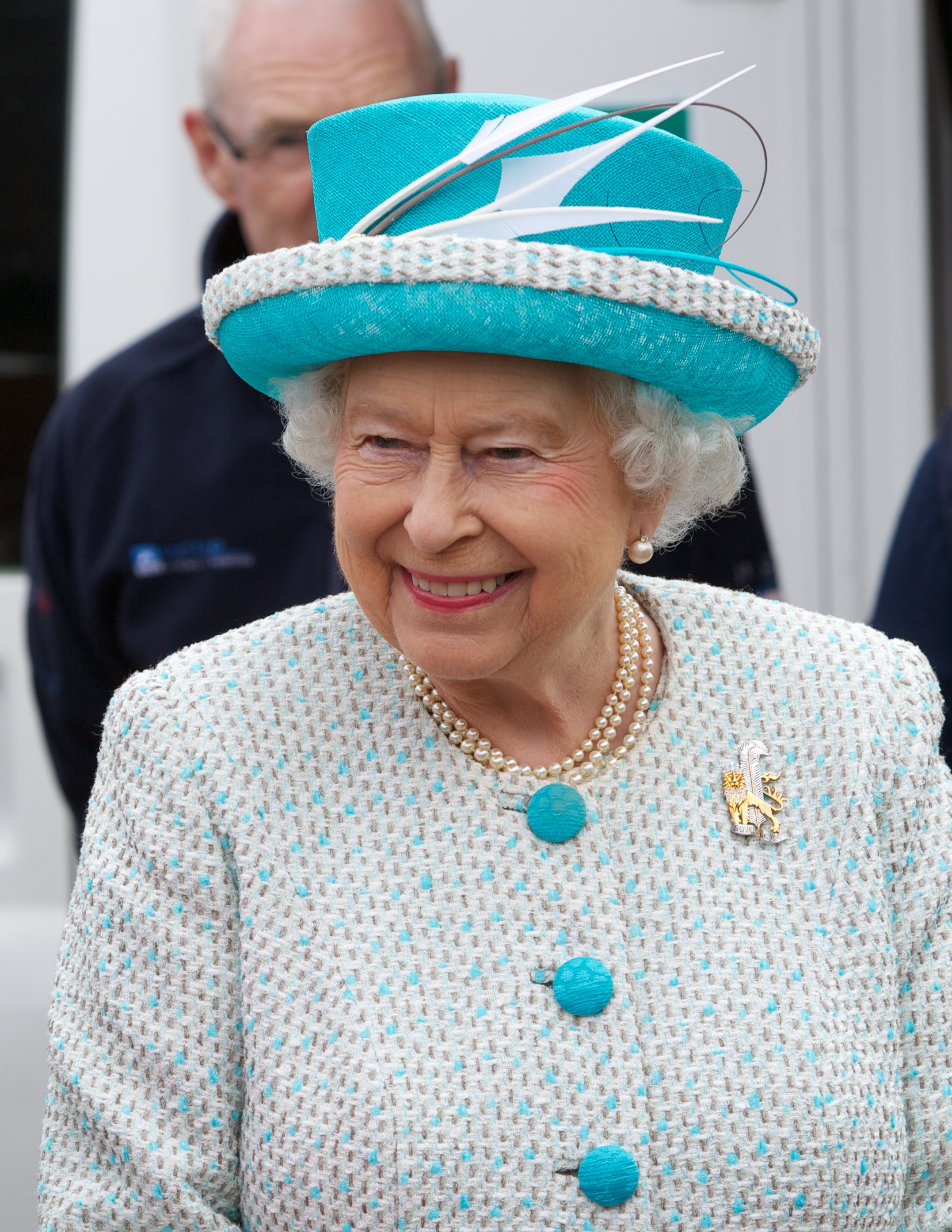 Her Majesty The Queen Visits Duchy of Lancaster