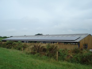 Photovoltaic panels on Duchy farms