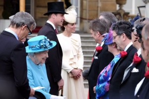 Her Majesty The Queen Duke of Lancaster greets Her Duchy of Lancaster tenants