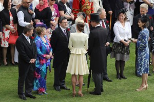 Duchy tenants also met Their Royal Highnesses The Duke and Duchess of Cambridge at this year's Garden Party